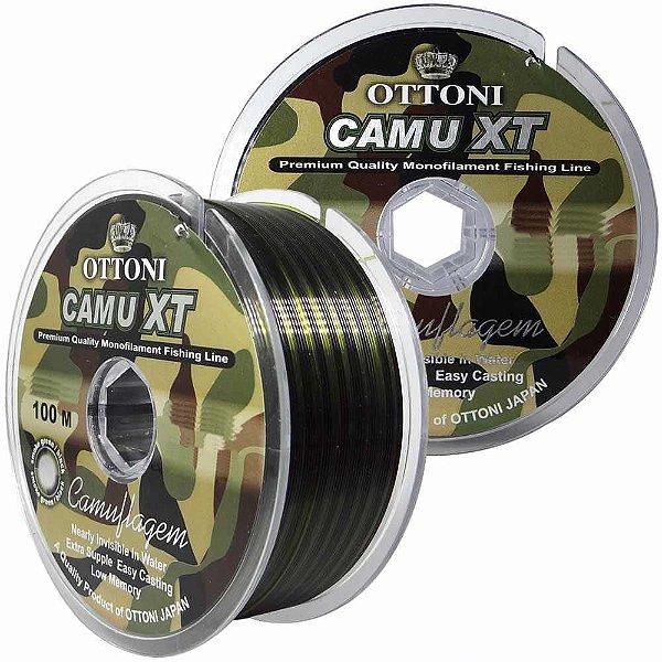Linha Monofilamento Camu XT 0,15mm - 100m