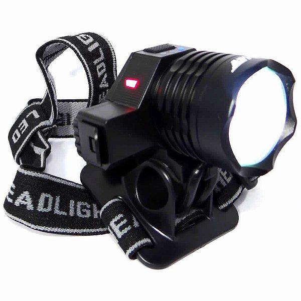Lanterna De Cabeça Bike Ybf-8817 Led T6 Pesca Caça Camping