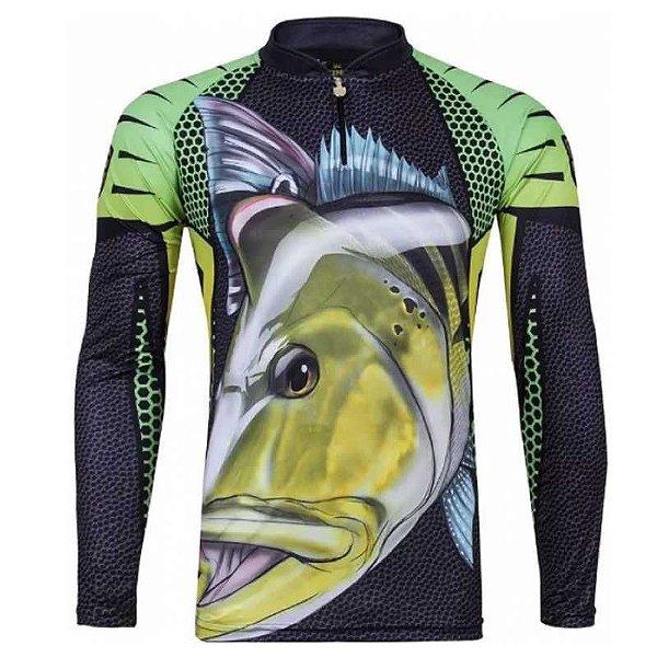 Camiseta de Pesca King  Kf 107 - tam: EX
