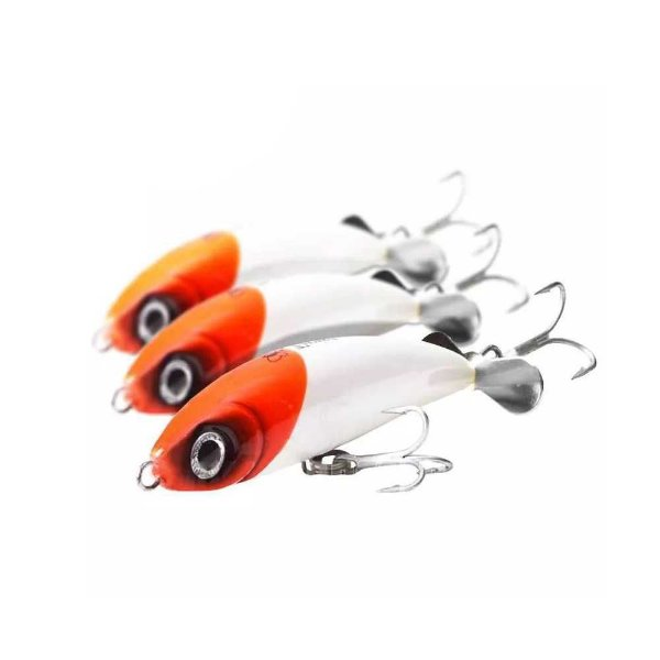 3 Un. Isca artificial Borboleta Twist com hélice Cor: 02