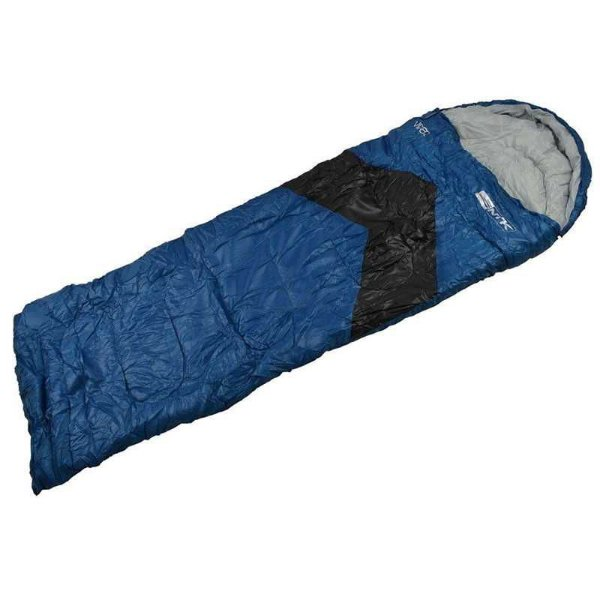 Saco de Dormir Nautika Viper Preto e Azul até 5 graus