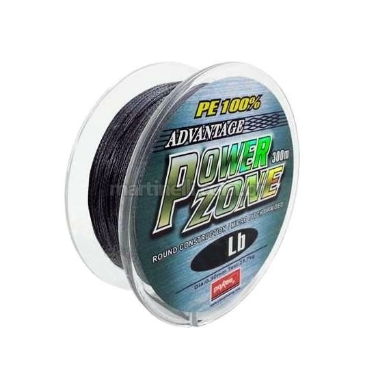 Linha multifilamento Power Zone 18lb 0,14mm 300m cor cinza