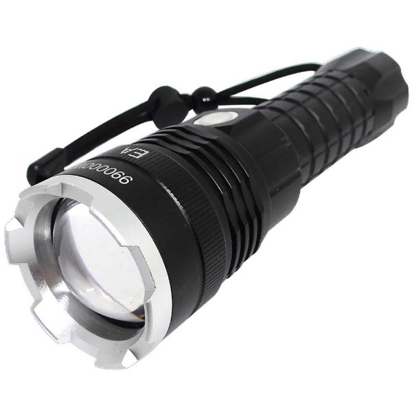 Lanterna Super Led T6 (janela) X Light Flashlight USB com Cabo USB