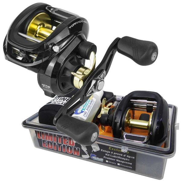 Carretilha Marine Sports Tornado BG 8.0:1 Big Game Limited Esquerda