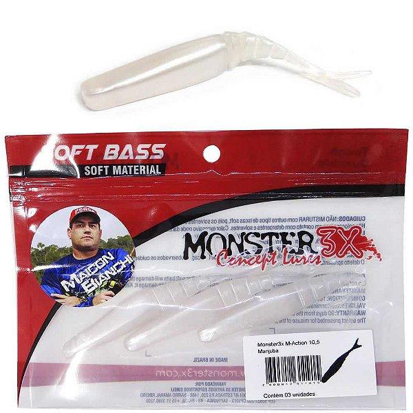 Isca Monster 3X M-action 10 5cm Manjuba 3 un.