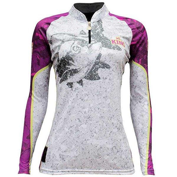 Camiseta King Sublimada Kf 611 P Feminina