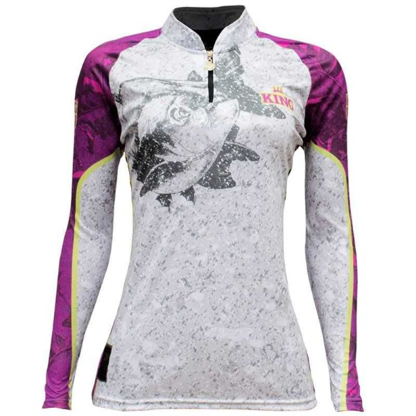 Camiseta King Sublimada Kf 611 GG Feminina