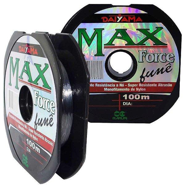 Linha Maruri Max Force Nylon Fumê 0,28mm 100m