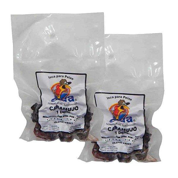 Kit 2 Isca Caramujo em conserva para Piapara e Pacu - contém 1 dúzia de caramujos descascados cada.