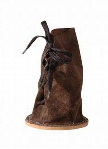 Proteção de couro p/ pés de ovinos