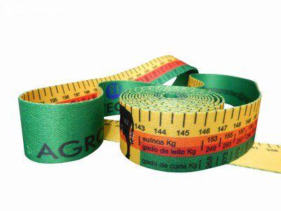 Fita para calculo de peso - animal bovinos e suínos
