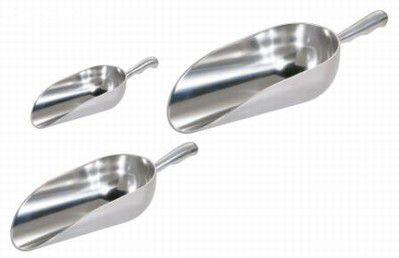 Pá de aluminio para ração - varias medidas