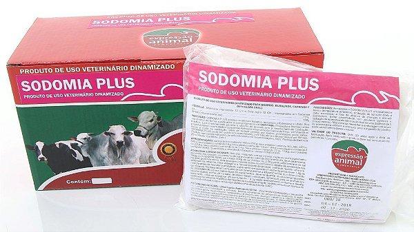 Sodomia plus homeopatia 01kg - tranquiliza machos em confinamento - 1 grama animal dia