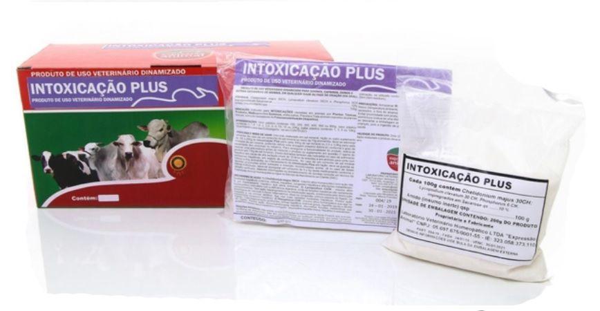 Intoxicação plus homeopatia 01kg - previne e trata intoxicação por ervas