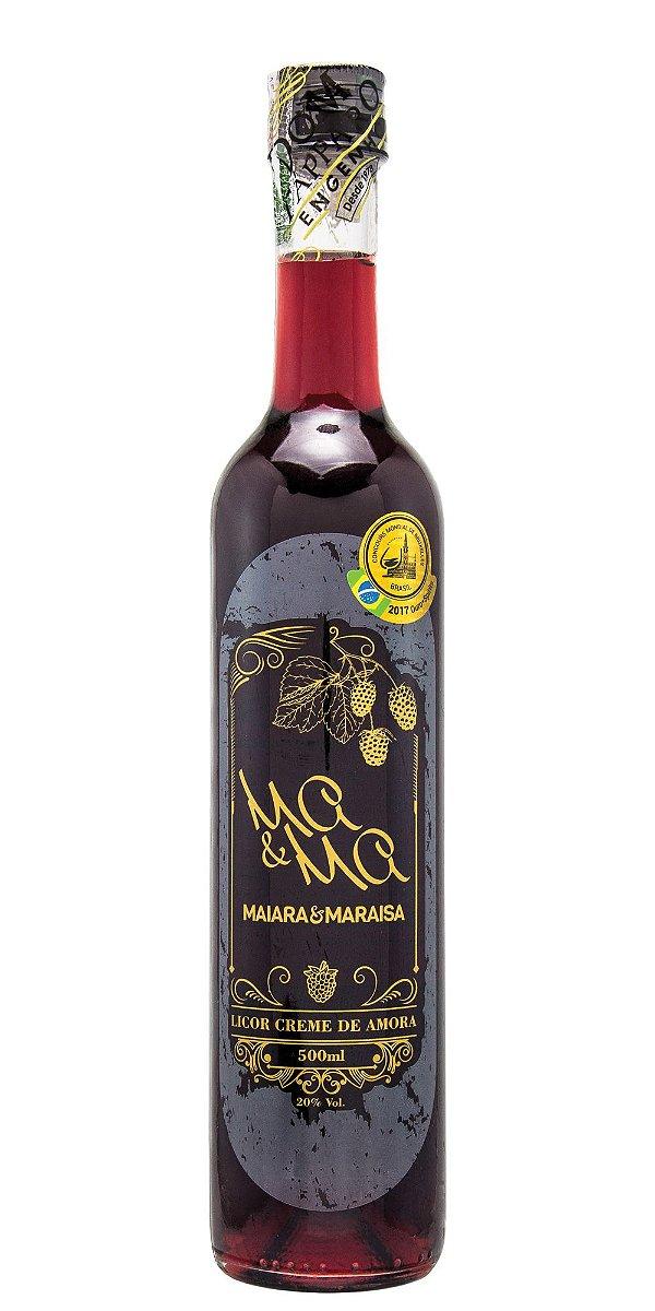 Licor Creme de Amora Maiara e Maraisa 500ml