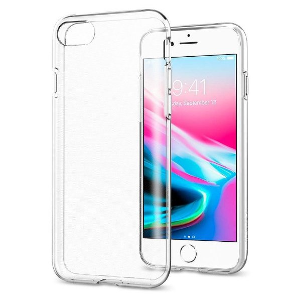 Capinha de Celular Linha APPLE iPhone Silicone TPU Transparente