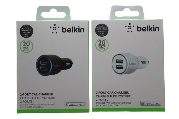 Carregador Veicular Belkin Dois USB Branco ou Preto
