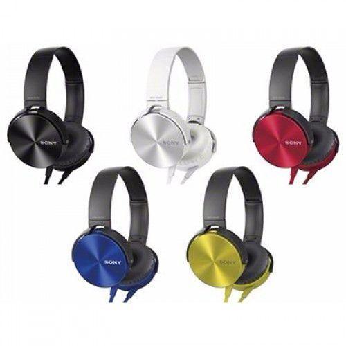 Fone de Ouvido Sony Mdr-xb450ap Headphone Extra Bass Cores Sortidas
