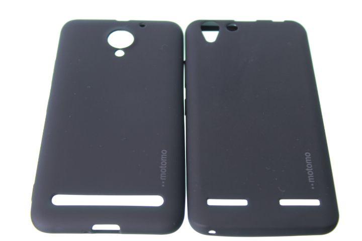 Capas para Celular Linha Lenovo Emborrachada Motomo Cor Preta
