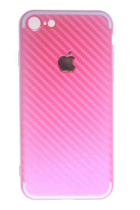 Capas para Celular IPhone 7 Silicone Rosa
