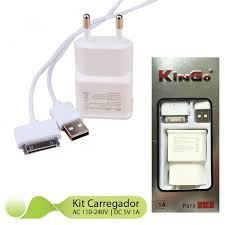 Carregador Marca Kingo iPhone 4