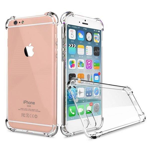 Capinha de Celular Linha APPLE iPhone Acrílica Transparente Borda Anti Impacto