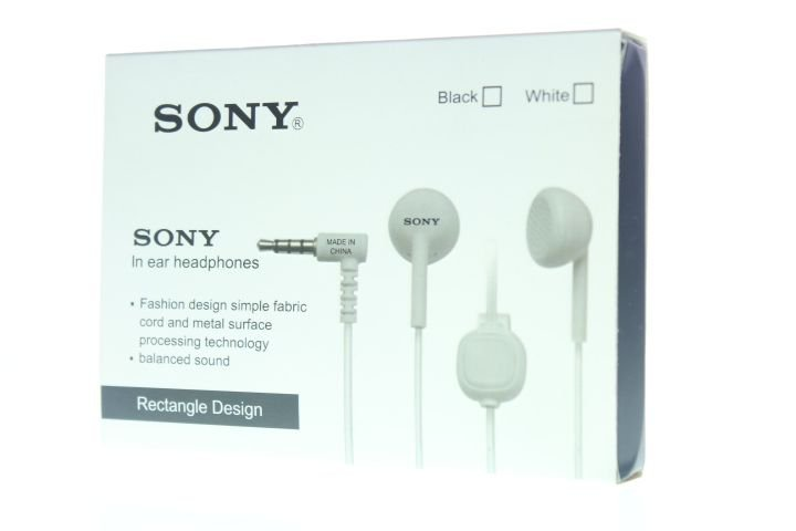 Fone de Ouvido 1ª Linha Sony Designe Requintado Branco
