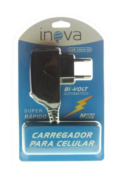 Carregador Inova Micro USB-V8
