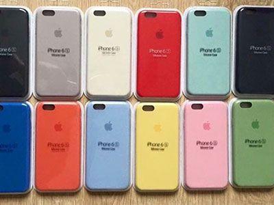 Capinha para Celular iPhone 6 Plus Emborrachada 1ª Linha