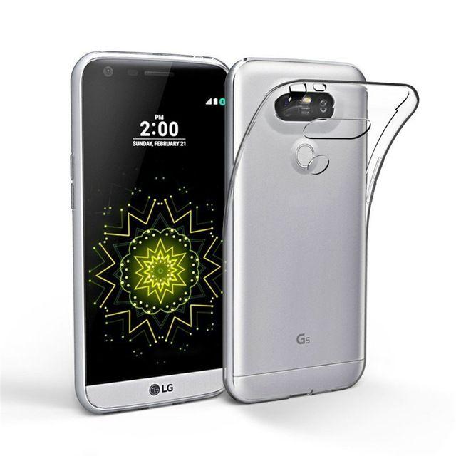 Capinha de Celular Linha LG Casca de Ovo Ultrafina Transparente