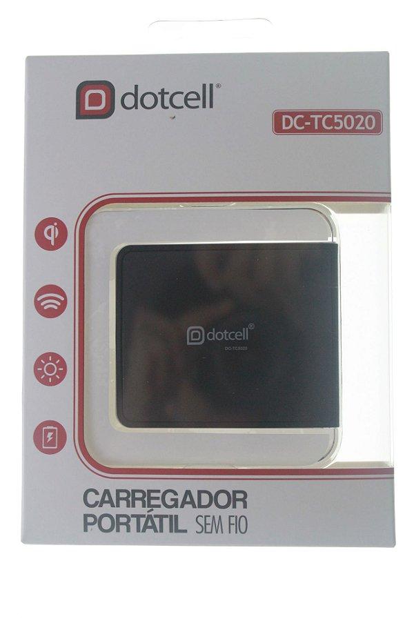 Carregador de Mesa p/ indução Dotcell DC-TC5020 - Preto