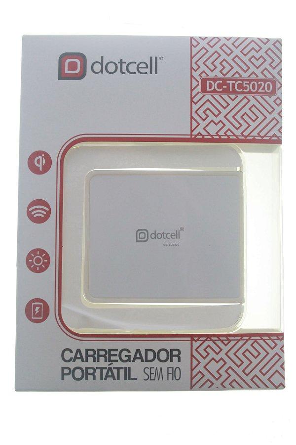 Carregador de Mesa p/ indução Dotcell DC-TC5020 - Branco