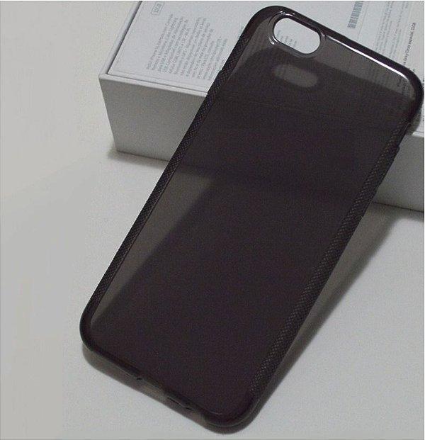 Capinha de Celular iPhone 6 Plus TPU Silicone Fumê