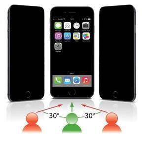 Película de Vidro Temperado Privacidade iPhone 5-5C-5S