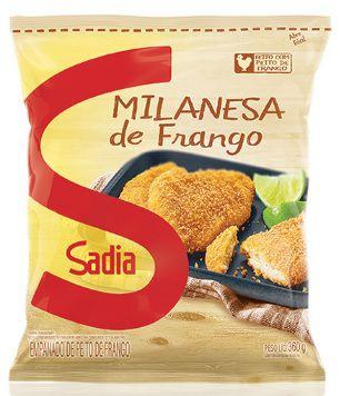 PEITO DE FRANGO A MILANESA 360 GR UN