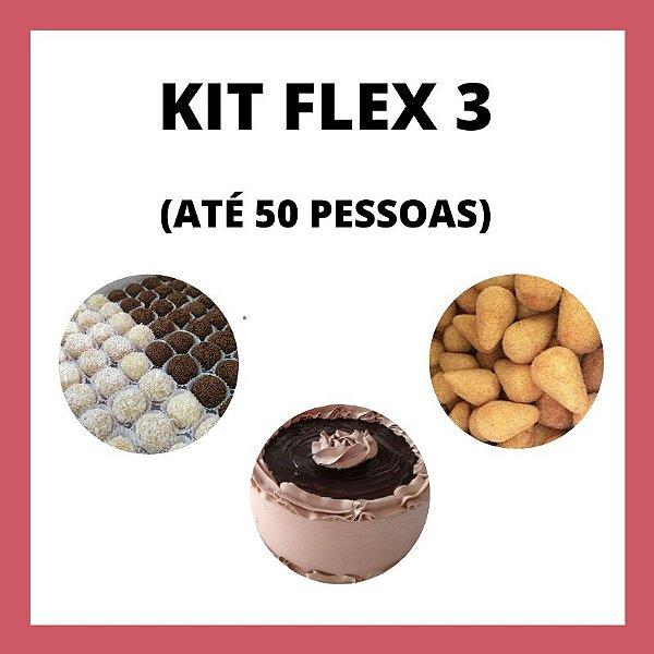 Kit Flex 3 (até 50 pessoas)