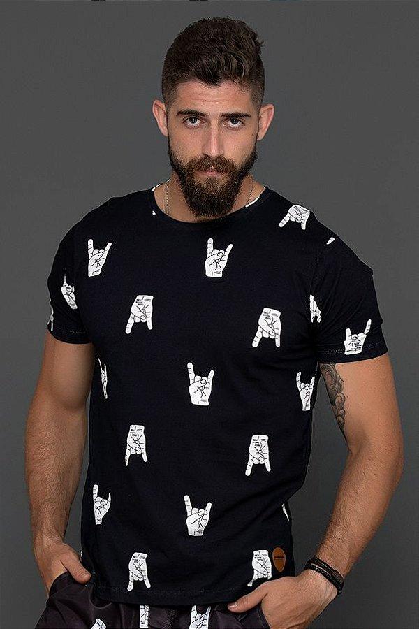 Camiseta ROCK ON