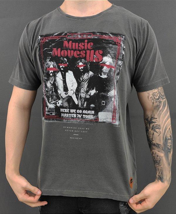 Camiseta Band Music Moves Us