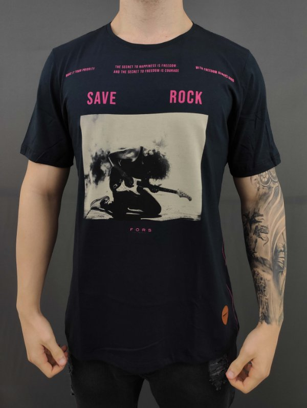 Camiseta Save Rock