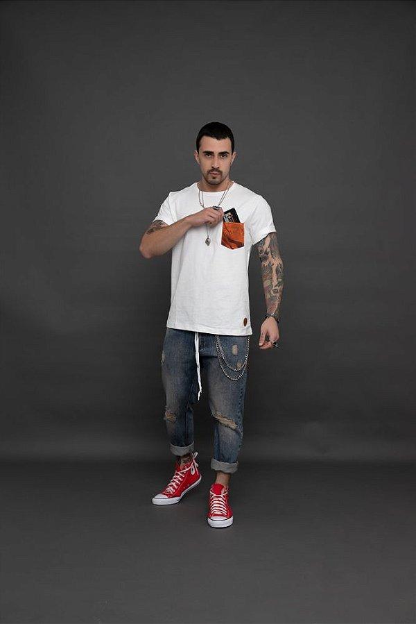 Camiseta Bolso Camo