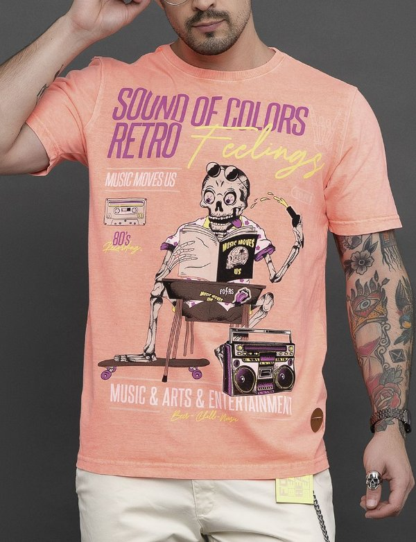 CAMISETA RETRO FEELINGS