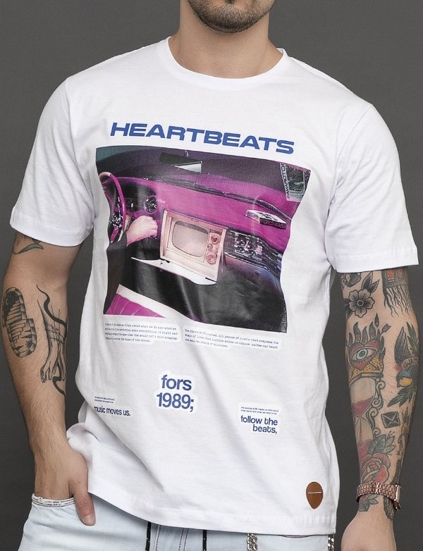 CAMISETA FOLLOW THE BEATS