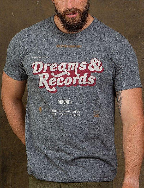 CAMISETA DREAMS & RECORDS