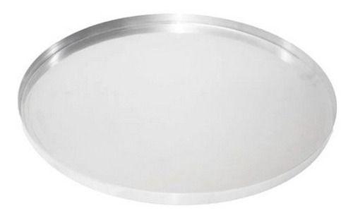 Forma Assadeira de Alumínio De Pizza Com Borda 45x1,5Cm