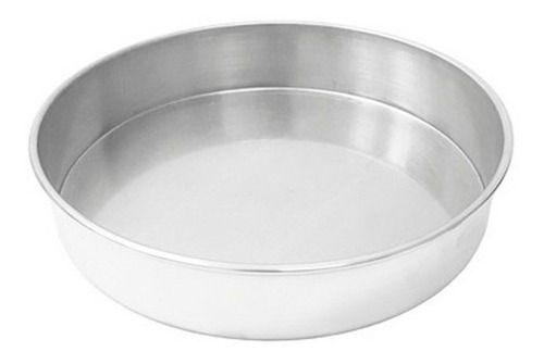 Forma Redonda de Alumínio para Bolo 25x5cm
