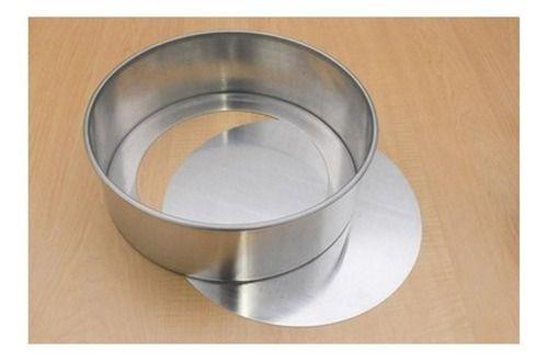 Forma Redonda de Alumínio Fundo Falso para Bolo 30x10cm