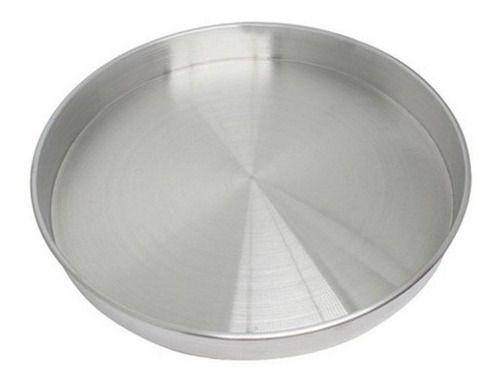 Forma Redonda de Alumínio para Bolo Nakedcake 20x3cm - Unidade