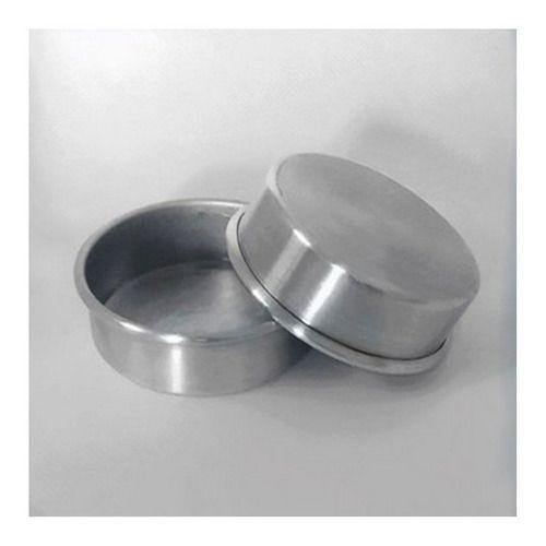 Forma de Alumínio para Pão De Mel N°4 Sem Borda C/ 12 Unid.