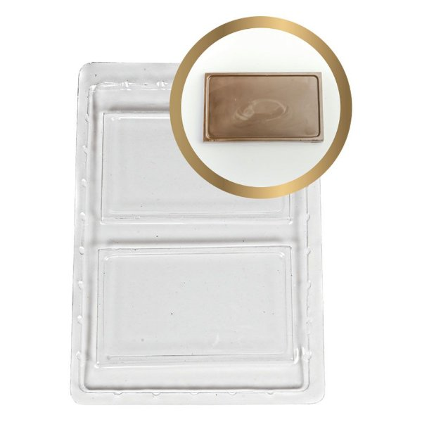 Forma Cartão - Liso Com 2 Cavidades