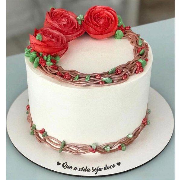Cake Board em MDF 20 cm - Unidade